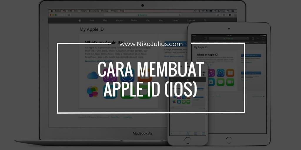 Cara Membuat ID Apple dengan Mudah!