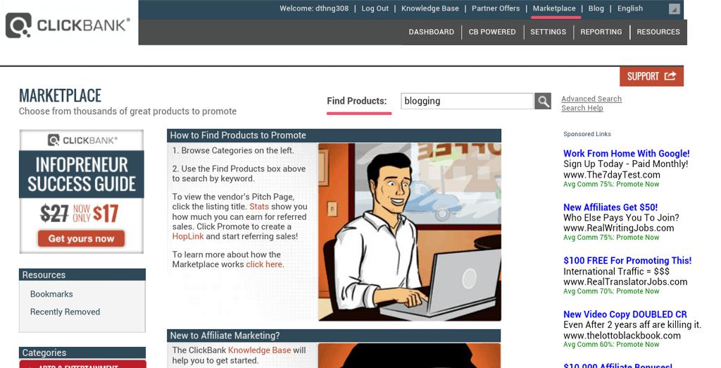 panduan bisnis clickbank